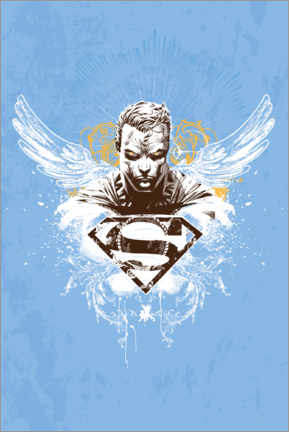 Sticker mural  Superman Angel