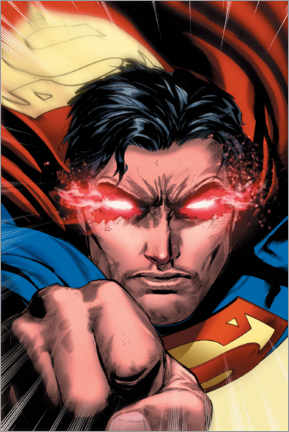 Tableau en aluminium  Superman's heat vision