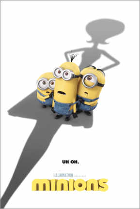 Poster Minions - shadow