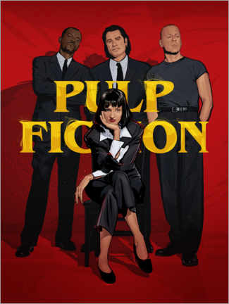 Poster Pulp Fiction Gang