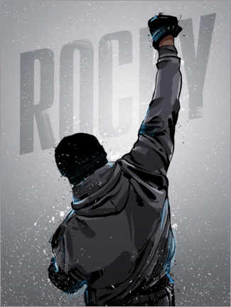 Poster Rocky Win