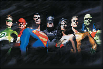 Poster  Justice League - The Original Seven