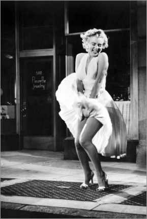 Poster  Marilyn - The Seven Year Itch iconic pose - Celebrity Collection