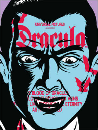 Poster  Dracula - Collage I