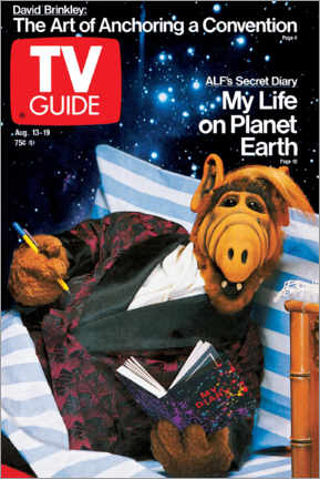 Poster  ALF - My Life on Planet Earth - TV Guide