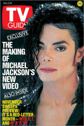 Poster Michael Jackson - TV Guide Cover 1991