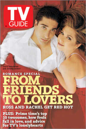 Poster Ross and Rachel - Friends to lovers