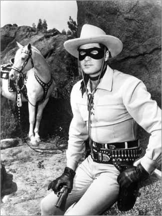 Poster  The Lone Ranger, Clayton Moore