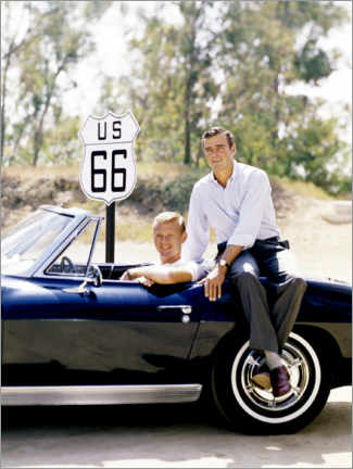 Poster TV series Route 66