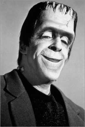Poster Les Munsters, Fred Gwynne