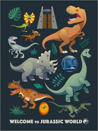 Poster  Welcome to Jurassic World