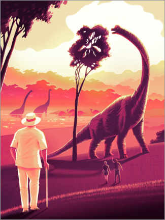 Poster  Welcome to Jurassic Park