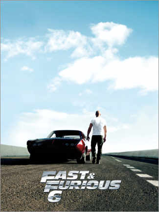 Poster  Fast & Furious 6 - Dominic Toretto