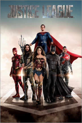 Poster  DC Justice League Movie poster