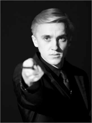Poster  The Half-Blood Prince - Draco Malfoy wand portrait