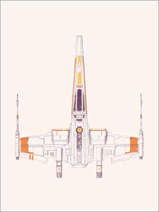 Poster  Spaceship - Florent Bodart