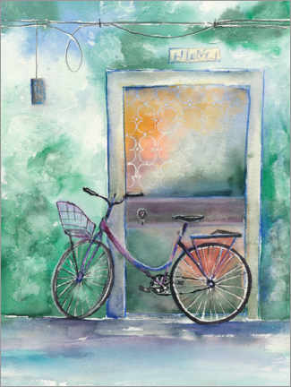 Poster Bicyclette