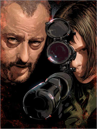 Poster  Leon and Mathilda - Nikita Abakumov