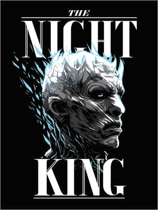 Poster Game of Thrones - The Night King