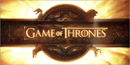 Poster Game of Thrones - opening credits