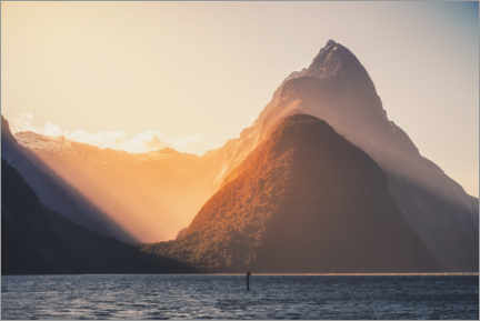 Poster Milford Sound