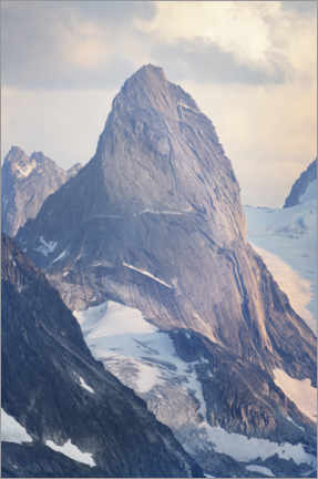 Poster Montagnes Purcell