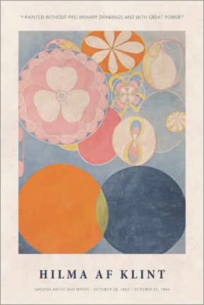 Poster  Hilma af Klint - With great power - Museum Art Edition