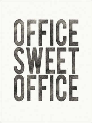 Tableau en plexi-alu  Office Sweet Office - Wild Apple Portfolio