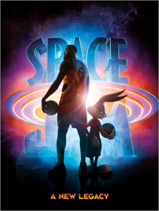 Sticker mural  Space Jam 2 - A New Legacy