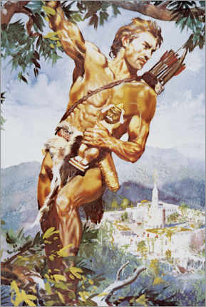 Poster  Tarzan and the Jewels of Opar