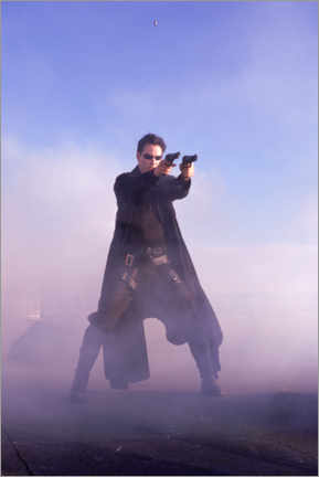 Poster  The Matrix - Keanu Reeves is Neo