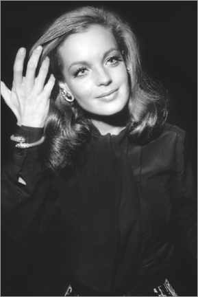 Poster  Romy Schneider, at Premiere of The Assassination of Trotsky, 1970