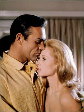 Poster  Sean Connery and Tippi Hedren, Marnie, 1964