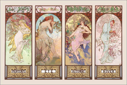 Poster The four Seasons
