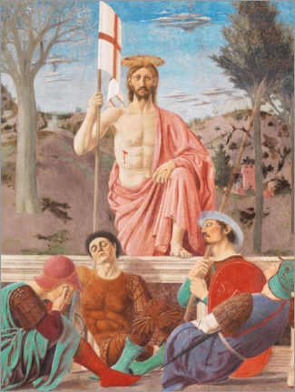 Poster  La Résurrection du Christ - Piero della Francesca
