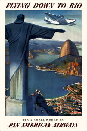 Poster  Flying down to Rio - Travel Collection