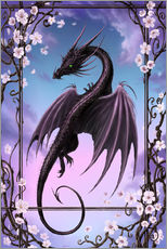 Sticker mural  Spring Dragon - Susann H.