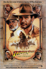 Poster  Indiana Jones et la Dernière Croisade (anglais) - Entertainment Collection