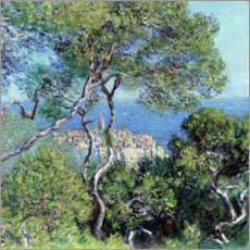 Tableau en PVC  Les Villas à Bordighera - Claude Monet