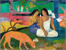 Tableau en aluminium  Arearea - Paul Gauguin