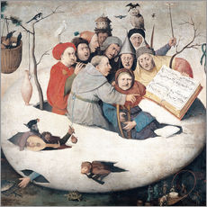 Sticker mural  The Concert in the Egg - Hieronymus Bosch