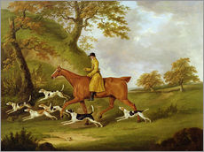 Sticker mural  Huntsman and Hounds - John Nott Sartorius