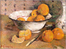Sticker mural  Nature morte aux oranges - Paul Gauguin