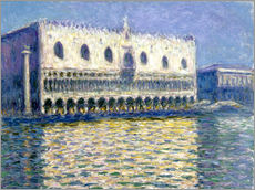 Sticker mural  Palais des Doges, Venise - Claude Monet