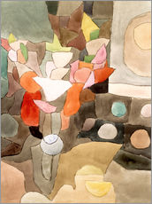 Sticker mural  Gladiolus Still Life - Paul Klee