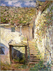 Sticker mural  L'escalier - Claude Monet