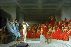 Sticker mural  Phryne before the Areopagus - Jean Leon Gerome