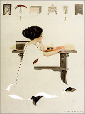 Tableau en plexi-alu  Know all men by these presents - Clarence Coles Phillips