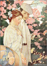 Sticker mural  Amoureux - Jessie Willcox Smith