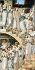 Sticker mural  L'Escalier d'Or - Edward Burne-Jones